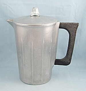 Household Institute, Cast Aluminum Coffee Pot