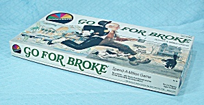 Go For Broke Game, Selchow & Righter, 1985