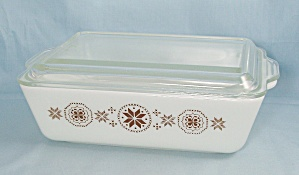 Pyrex - Town And Country - Refrigerator Dish 0503, Cover 503 C