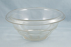 Clear, Hazel Atlas, Restwell Mixing Bowl, Rolled Rim (Image1)