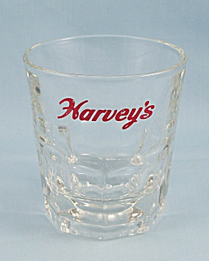 "Vintage Libbey ""harvey's"" Barware Glass"