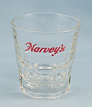 "Vintage Libbey ""harvey's"" Barware Glass #2"