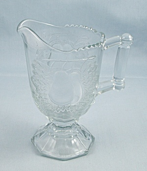 Jeannette Glass – Baltimore Pear Creamer, Pale Blue (Image1)