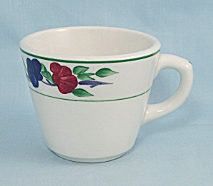 Shenango Cup/mug - Multicolored Backstamp - Floral