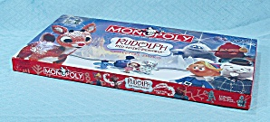 Rudolph The Red-nose Reindeer Monopoly Game, Parker Brothers, 2005