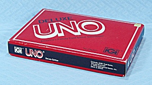 Deluxe Uno Game, International Games, 1978