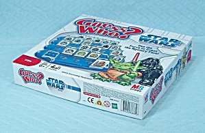 Guess Who? Star Wars Edition Game, Milton Bradley, 2008 (Image1)