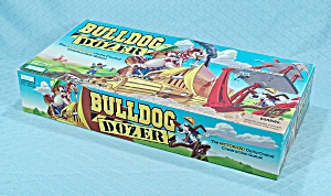 Bulldog Dozer Game, Parker Brothers, 1996