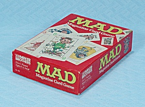 Mad Magazine Card Game, Parker Brothers, 1980