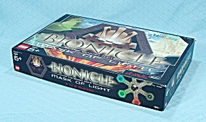 Bionicle The Board Game, Mask Of Light, Rose Art, 2003