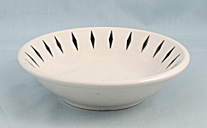Hlc - Black Diamonds - Small Bowl