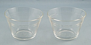 Two, Pyrex 462 – Clear Custards (Image1)