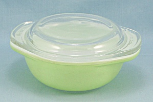 Pyrex 080 - Lime Green 8 Oz Casserole, Lid