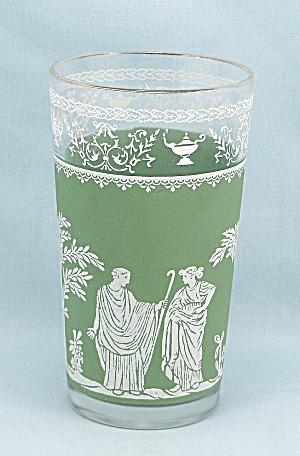 Hellenic Green Tumbler/ Jasperware/ Wedgewood/Grecian  (Image1)