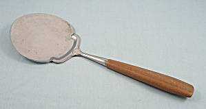 Cheese Serving Spoon - Wood Handle