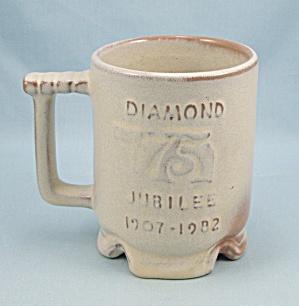 Frankoma Pottery, Diamond Jubilee 1907-1982 Mug (Image1)