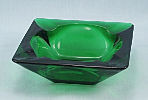 Forest Green, Small Square Ashtray