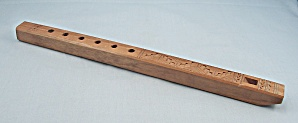 Wooden, Carved Flute - YUGOSLIVIAN (Image1)