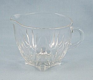 Flat Clear Creamer, Square Base (Image1)
