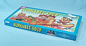 Alphabet Soup Game, Parker Brothers, 1992