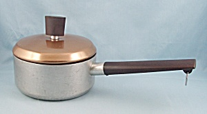 West Bend Saucepan - 1 Qt - Coppertone Lid