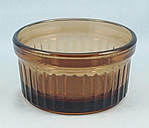 Ramekin – Fire King – Amber Glass (Image1)