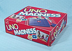 UNO Madness Game, Mattel, 1995 (Image1)