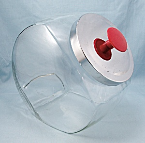 Slant Front Store Display - Canister/Cookie/Candy Jar (Image1)