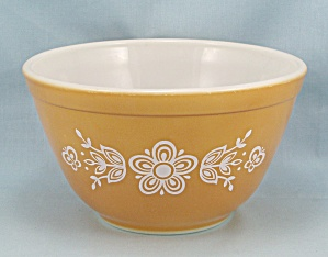Pyrex 401, Butterfly Gold - Bowl