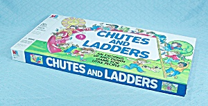 Chutes And Ladders Game, Milton Bradley, 1979