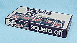Square Off Game, Parker Brothers, 1972
