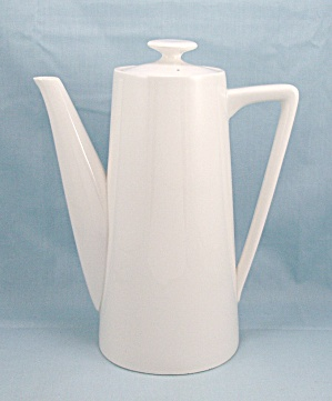 Moonstone, Ironstone Coffee Pot - Pattern 4253 - Japan