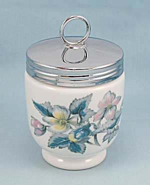 Woodland - Royal Worcester - Egg Coddler - Made In England