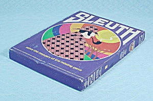 Sleuth Game, Avalon Hill, 1981