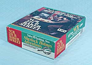 Vcr 221 B Baker Street Game, Antler Productions, 1987