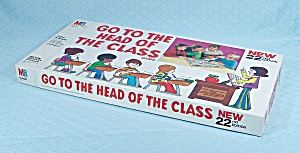 Go To The Head Of The Class Game, 22nd Edition, 1981