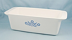 Corning P-315 - Blue Cornflower Loaf Pan