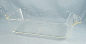 Fire King 441 - Clear 1-qt. Loaf Pan / Utility Dish