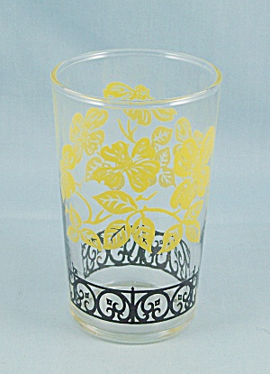 Federal Juice Tumbler, Black & Yellow