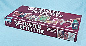 Clue Master Detective Game, Parker Brothers, 1988