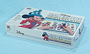 Light & Learn, Disney Object Matching Game, Milton Bradley, 1989 (Image1)