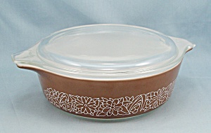 Pyrex 471 B - Woodlands Brown - 1 Pint