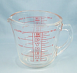 Pyrex 516 - 1 Pint Measuring Cup, L 16