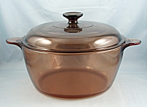 Corning, Amber, Visions - 5 Qt. Dutch Oven