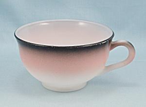 Informal Cup - Hazel Atlas - Pink, White, Black (Image1)