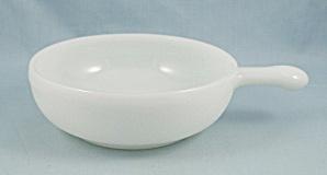 Glasbake J2663 – Lug Handle, White Soup Bowl  (Image1)