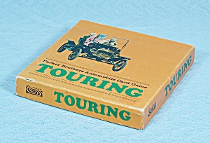 Touring Card Game, Parker Brothers, 1965