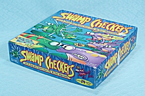 Swamp Checkers Game Pressman 1999 Contemporary Toys And