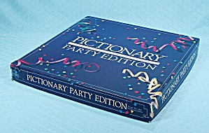 Pictionary, Party Edition Game, 1989
