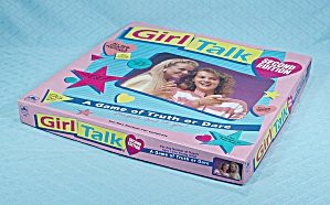 Girl Talk Game, Second Edition, Golden, 1990